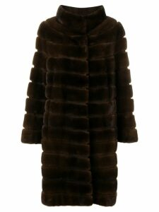 Liska Zek fur coat - Brown