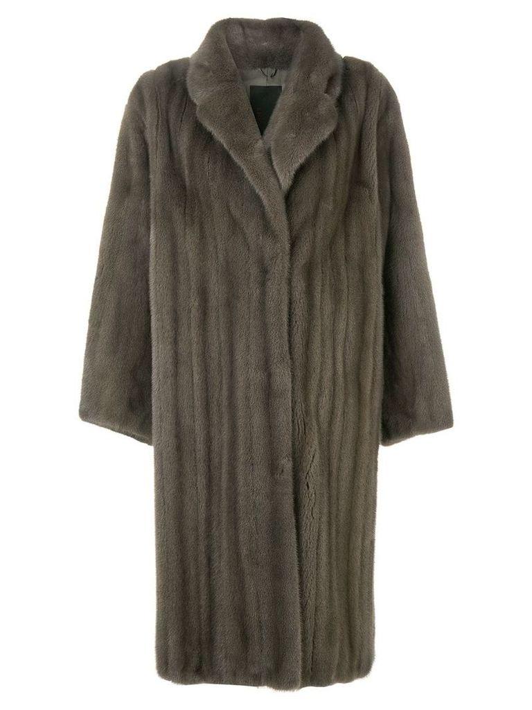 Liska Colestin fur coat - Grey