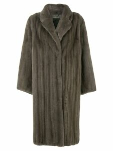 Liska Colestin fur coat - Grey