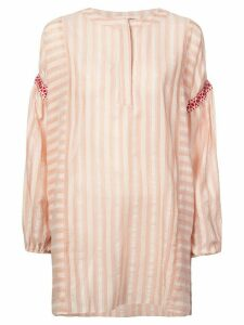 Lemlem Nefasi striped tunic dress - Pink