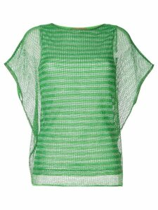 Missoni mesh knitted top - Green