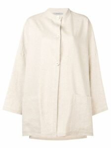Dusan front button coat - Neutrals
