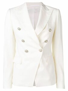 Tagliatore Jalycia double-breasted blazer - White