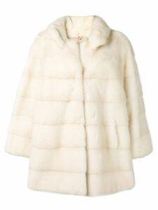 Liska LISKA CHEK pearl Furs & Skins->Mink Fur - White