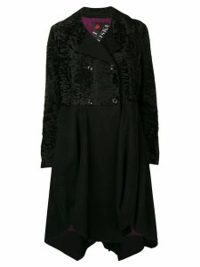 Liska Maja midi coat - Black