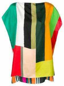 Pierre-Louis Mascia stripe pattern blouse - Orange