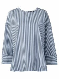 Woolrich striped tunic top - Blue