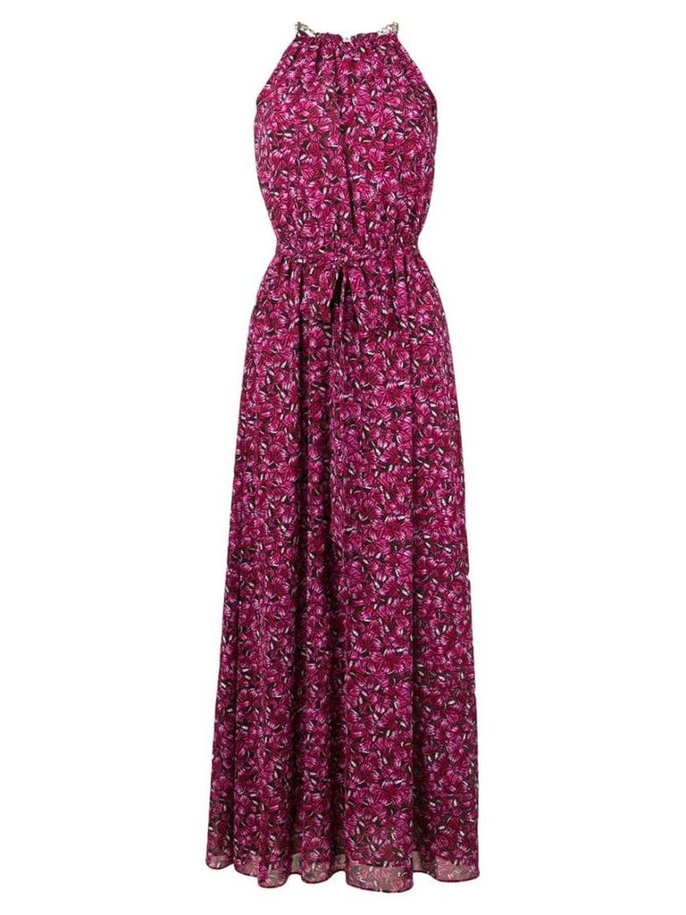 Michael Michael Kors Grand Papillion maxi dress - Pink