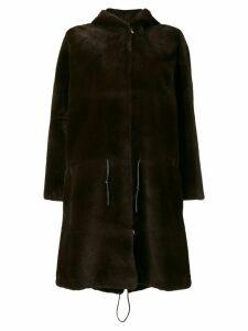 Liska German fur coat - Brown