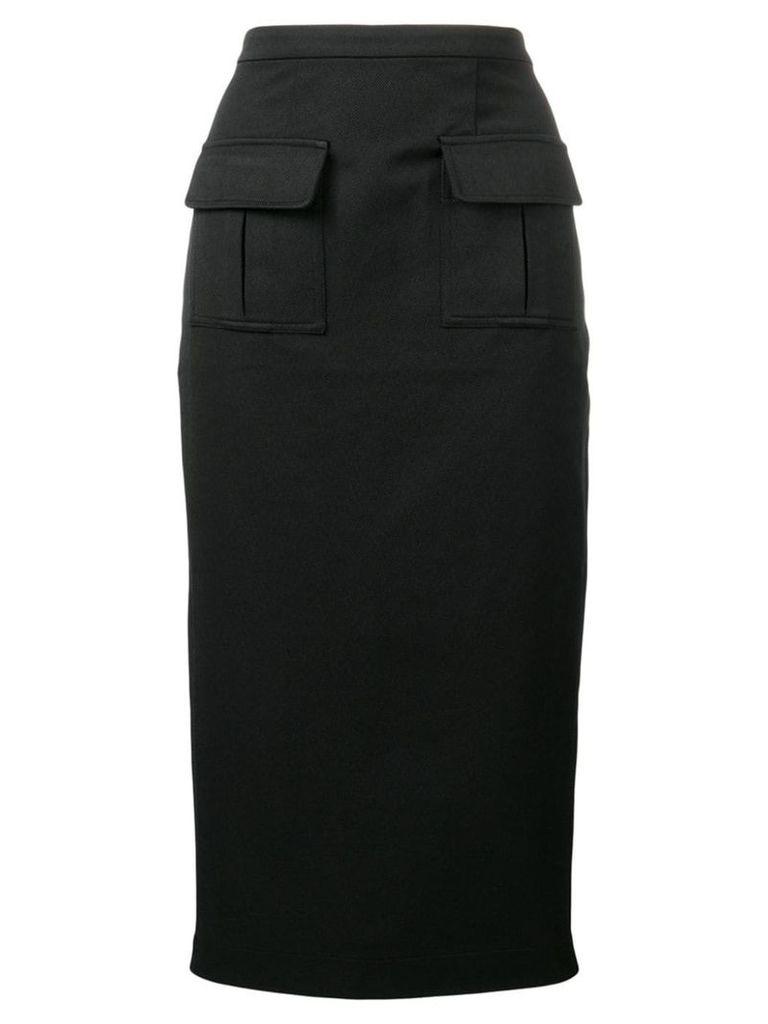 Maggie Marilyn twill pencil skirt - Black