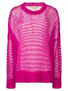 Nº21 oversized loose knit jumper - Pink