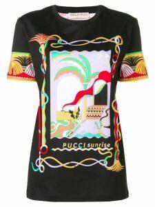 Emilio Pucci printed T-shirt - Black