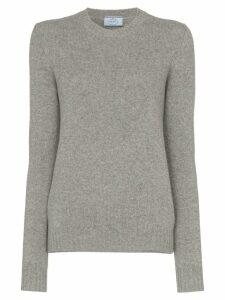 Prada Cashmere cutout sweater - Grey