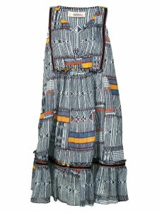 Lemlem Kente printed mini dress - Blue
