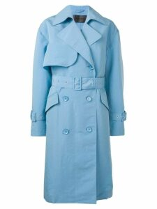 Christian Wijnants Chika trench coat - Blue
