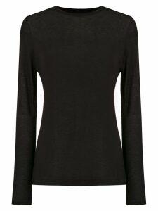 Osklen long sleeved blouse - Black