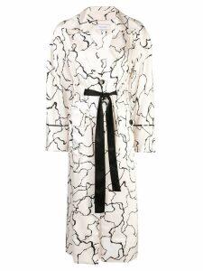 Yigal Azrouel Ocean Crest printed coat - Neutrals