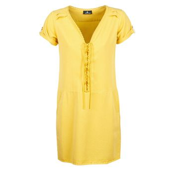 One Step  PATRICIA  women's Dress in Yellow