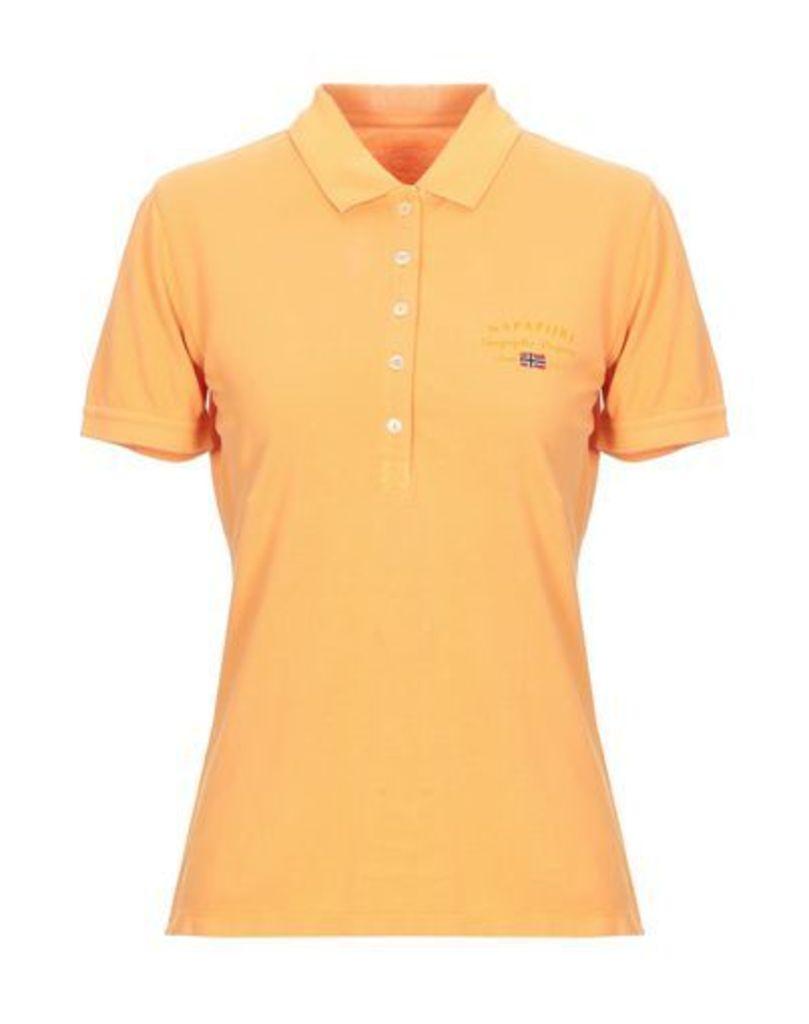 NAPAPIJRI TOPWEAR Polo shirts Women on YOOX.COM