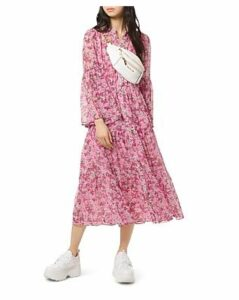 Michael Michael Kors Enchanted Bloom Midi Dress