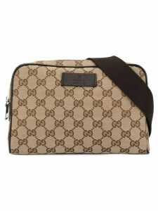 Gucci Pre-Owned GG pattern bum bag - Brown