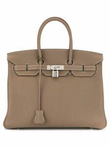 Hermès Pre-Owned 2012 Birkin 35 handbag Togo - Brown