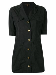 LOUIS VUITTON PRE-OWNED 2000's A-line mini dress - Black