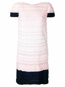 Chanel Pre-Owned 2009's pleated short dress - Pink