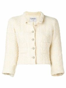 Chanel Pre-Owned 1990 tweed jacket - Neutrals
