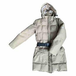 Ecru Synthetic Coat