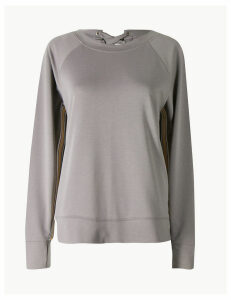M&S Collection Quick Dry Feature Back Sweatshirt