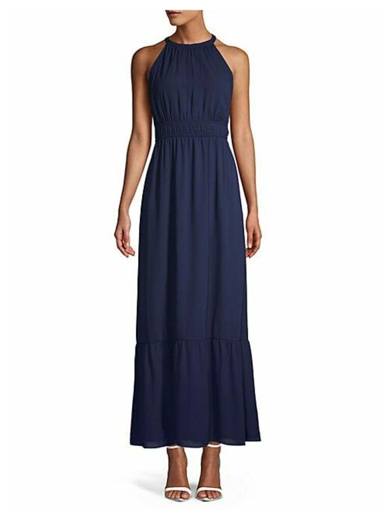 Dobby Maxi Dress