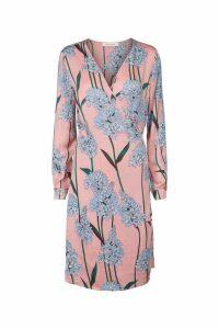 Womens Sofie Schnoor Pink Floral Wrap Dress -  Pink