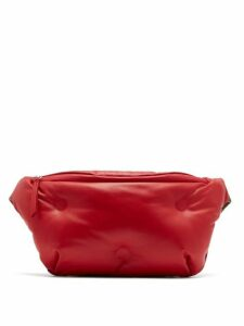Maison Margiela - Glam Slam Quilted Leather Belt Bag - Womens - Red