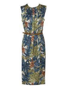 Salvatore Ferragamo Printed Dress