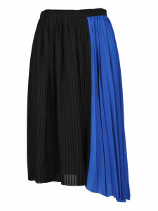 Kenzo Kenzo Pleated Asymmetric Skirt