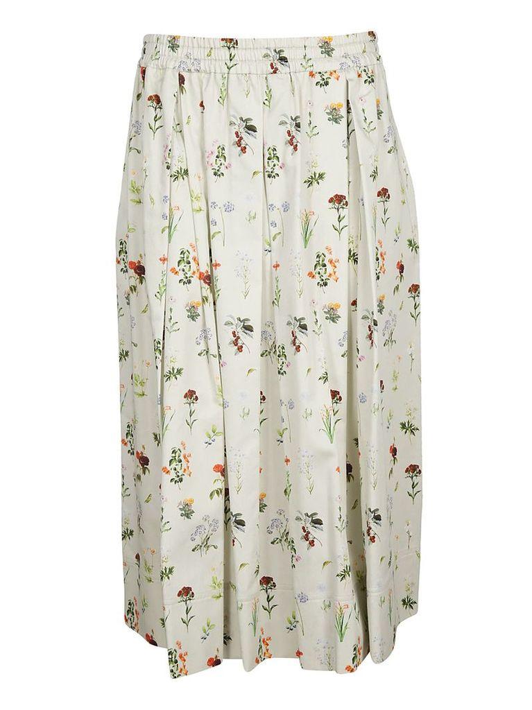 Fay Floral Print Skirt