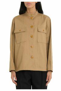 Givenchy Oversized Shirt With Mandarin Collar