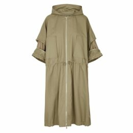 Stella McCartney Blake Olive Cotton-blend Parka