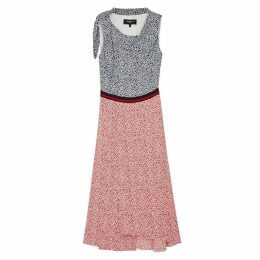 Paule Ka Printed Crepe Dress