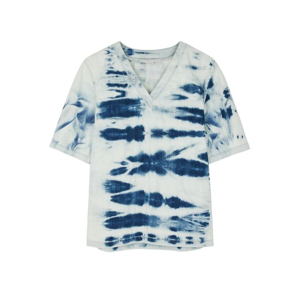 Stella McCartney Tie-dye Denim T-shirt