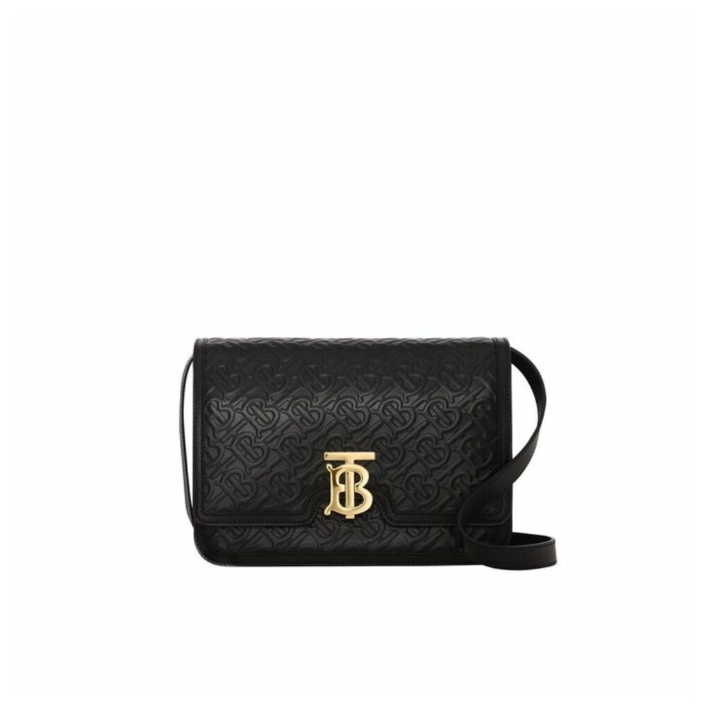 Burberry Medium Monogram Leather TB Bag