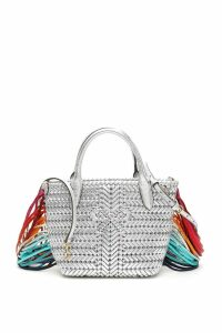 Anya Hindmarch Mini Neeson Fringed Tote