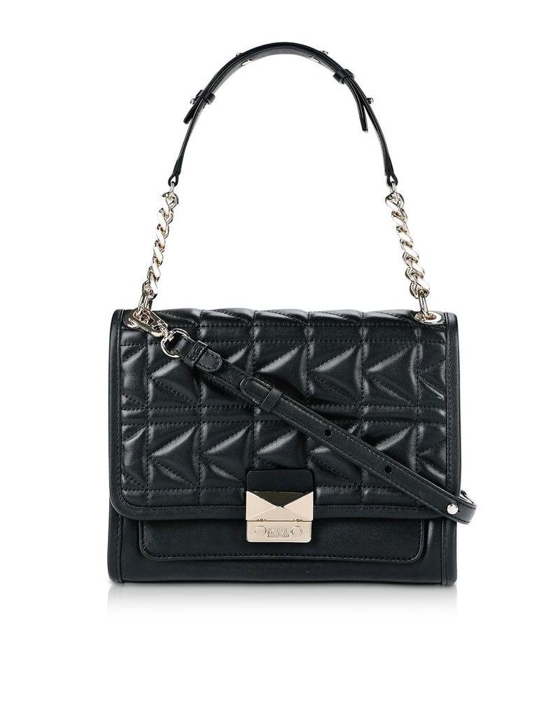 Karl Lagerfeld K/kuilted Leather Shoulder Bag
