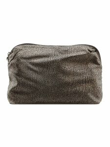 Borbonese Micro Pattern Pouch