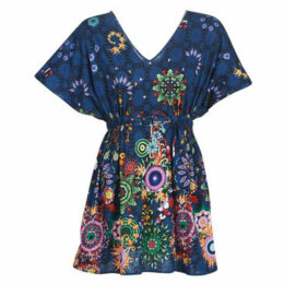 Desigual  HARVIR  women's Dress in Blue