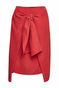 Joseph Clive Fuji Silk Skirt