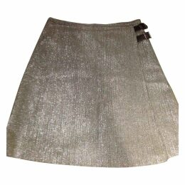 Glitter mid-length skirt