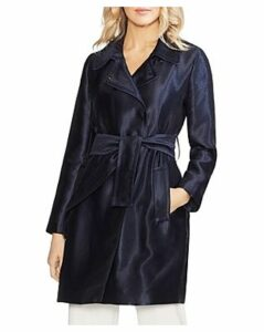 Vince Camuto Satin Trench Coat