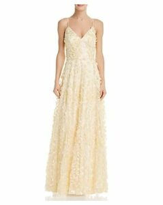 Eliza J Floral Embellished Gown